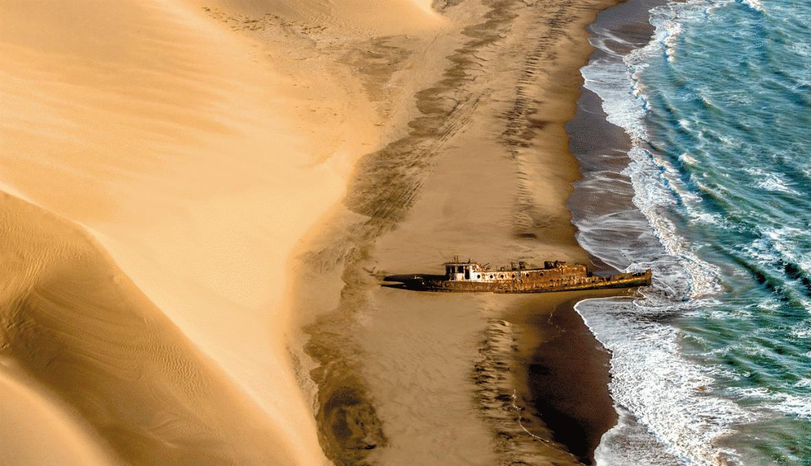 Namib Desert Scenic Image